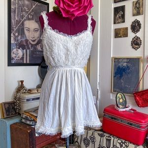 Couture 50's Ruffled Babydoll Peignoir lingerie